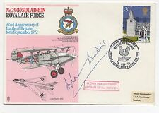 RAF 32nd Anniversary of Battle of Britain signed Douglas Bader. Excellent!