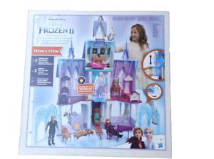 Hasbro Die Eiskönigin 2 Königliches Schloss von Arendelle Spielgebäude Hellb