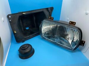 New Genuine OEM SIEM 10400 FIAT 131 Front Headlight Headlamp & Frame RH 4329806