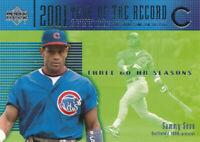 Sammy Sosa 2002 Upper Deck #731 Chicago Cubs baseball card