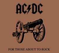 """AC/DC - FOR THOSE ABOUT TO ROCK  12"""" LP  New - 180 G VINYL PRESSING - SEALED"""