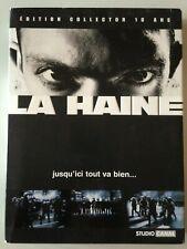 DVD LA HAINE DE MATHIEU KASSOVITZ - EDITION COLLECTOR 10 ANS // VINCENT CASSEL