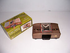 VINTAGE VISU MATIC 2 DECK ELECTRIC CARD SHUFFLER WITH ORIGINAL BOX