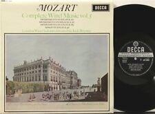SXL 6053 WB ED1 Mozart Complete Wind Music Vol 5 Brymer, London Wind Soloists