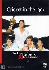 CRICKET in the '80s - Rookies, Rebels & Renaissance - ABC TV DVD 80's Region 4