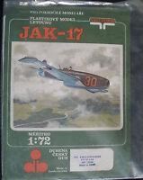 VACUFORM - Jakowlew JAK 17  - 1:72 - Flugzeug Modellbausatz - Airplane Model KIT