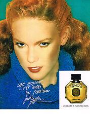 PUBLICITE ADVERTISING 044  1978  CHERAMY  pafum ESPACES  par JUST JAECKLIN