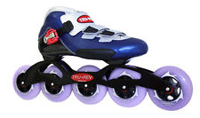 In-line Speed Skates by Trurev with 5 wheel skate frame and 90mm skate wheels
