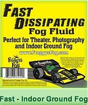 Fast Dissipating Fog - Indoor Ground Fog - 4.4Ltrs