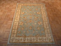 4 X 6 Hand Knotted Oushak Oriental Rug 100% Wool & Vegetable Dyes G343