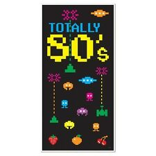 Totally 80's DOOR and Wall COVER Party Prop DECORATION ATARI Space Invaders