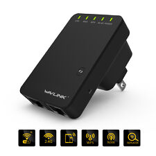 Wavlink 300mbps Wi-Fi AP/Repeater Network Signal Extender Booster US/UK Plug