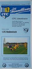 Döbelner SC Programm 2000//01 1 FC Rodewisch