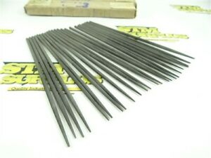 """LOT OF 24 NEW-OLD STOCK 6-1/4"""" ROUND SWISS PATTERN NEEDLE FILES #2"""