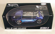1:18 HOF EXCLUSIVE DEORA II BLUE CHROME 1/1500 HALL OF FAME RARE HOT WHEELS