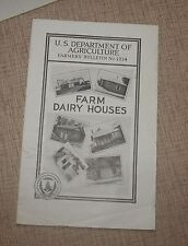 1932 U.S. Department of Agriculture # 1214  Farm Diary Houses by Ernest Kelly