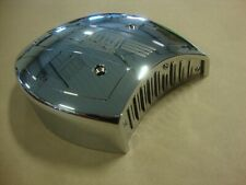 BIG DOG MOTORCYCLES OEM AIR CLEANER COVER W/ LOGO & LOUVERED PLATE 2004-2011