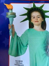 Statue of Liberty Costume Kids Patriotic July 4th Halloween Accessories