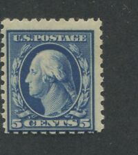 1914 US Stamp #428 5c Mint Never Hinged Average Original Gum
