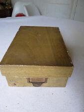 Ancienne boite de mercerie fil WF