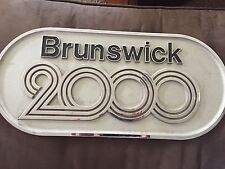 Brunswick 2000 Bowling Ball Return Plate