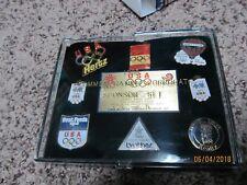 1988 Official Olympic Sponsor Pin Set CS-5