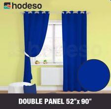 Home Décor Grommet Curtain Ella Double Panel (Plain Design)