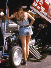 """Jungle Pam"" ""Jungle Jim"" Liberman & 1974 NITRO Funny Car Racing PHOTO! #(6)"
