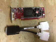 ATI Radeon HD B276 - 256 B Video Card DMS-59 Dual DVI Cable -Dual Monitor- PCI-E