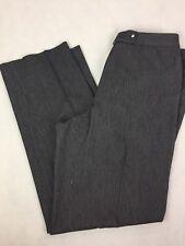 Ann Taylor Gray Pin Stripe Career Dress Pants Size 8