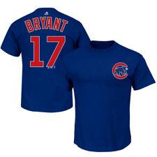 Kris Bryant Chicago Cubs Majestic MLB Player Men T Shirt 2xl
