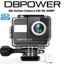 "DBPOWER N6 4K Touchscreen Action Camera, 2.31"" LCD Touchscreen 170° CAM02"