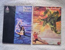 Yngwie Malmsteen Fire & Ice & trilogía Libros de música guitarra ficha X 2 Rock Metal