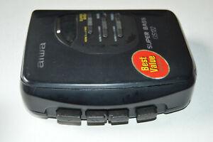 Walkman Tragbarer Kassettenspieler GS122 von AIWA Super Bass Vintage Retro