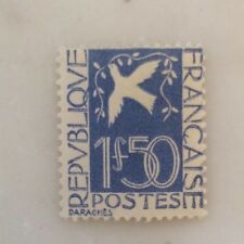 France n°294 1934 1,50f outremer colombe de la paix neuf sans charnière
