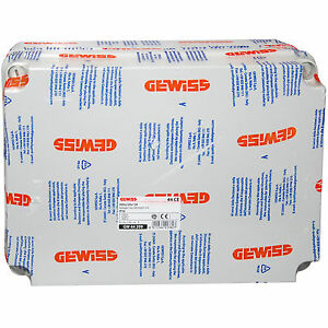 Gewiss 300 x 220 x 120mm Surface Mounted Plastic Enclosure IP56 - GW44209