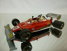 FDS  KIT (built) -  FERRARI 312 T2 1977 - 6 WHEELER  -  F1  1:43  NICE CONDITION