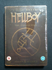 Hellboy The Collection 4 Disc BoxSet In Steelcase Book - Region 2 Pal