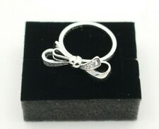 PANDORA Brilliant Bow Ring 925 Sterling Silber Zirkonia 197232CZ Gr. 56 (c)