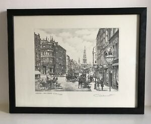 Signed Limited Edition Print of London - The Strand