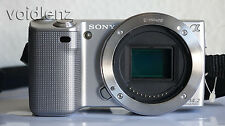 Sony Alpha NEX-5 14.2MP Digitalkamera-Schwarz (Body Only) - funktioniert nicht