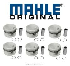 For BMW E30 3-Series E34 Set of 6 Pistons With Rings 84.50mm +0.50mm Over OEM