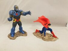 SCHLEICH DC Justice League SUPERMAN & DARKSEID Figure Bundle