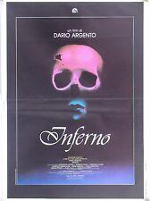 INFERNO horror di Dario Argento con Giorgi Lavia Mastelloni fotobusta 1980