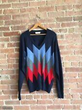AMI Paris Mens 100% Wool Sweater Size Large