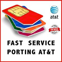 AT&T | ATT | Phone Numbers for Port | Any Area Codes | Numbers to Port