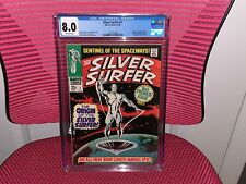 Silver Surfer #1 CGC 8.0 Origin of Silver Surfer Tales of the Watcher