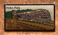 Hobo Pals RailRoad Train Lapel Hat Pin Pinback ~ RR ~ Trains ~ Railway