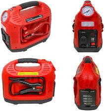2in1 Booster Jumper Avviatore istantaneo batteria auto + compressore aria gomme