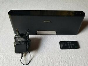 Sony Personal Audio Docking System RDP-T50iP Apple 30 Pin Connector BLACK
